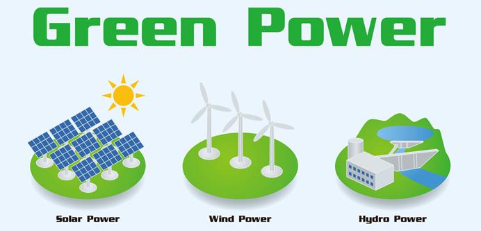 再生可能エネルギーとは? イメージ図