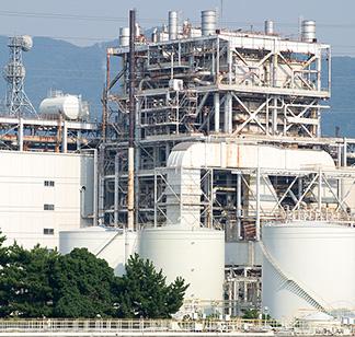 総供給量と化石燃料の構成比の推移 イメージ