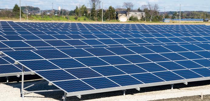 遠隔監視で太陽光発電を守る! イメージ図