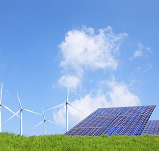 太陽光パネル 風量発電