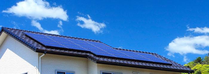 太陽光発電の仕組み イメージ図