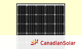 カナディアン・ソーラー 多結晶 CS3Kシリーズ(CS3K-295P、CS3K-300P)