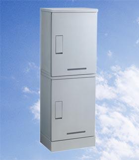 河村電器 宅配ボックス(集合用) ボックス2段タイプ KD2-31C