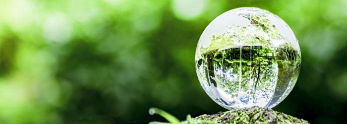 地球環境の保護に貢献する太陽光発電 イメージ図