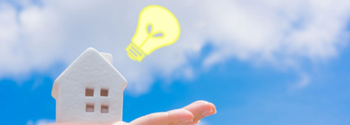 未来のエネルギーを担う再生可能エネルギーイメージ図