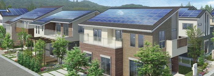 ZEHはこれからの時代を担う新しい住宅の形 イメージ図