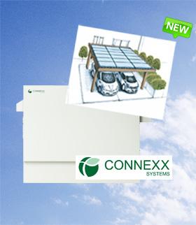 自家消費パッケージ(Soletto×カナディアン・蓄電システム CONNEXX  BB0120IS1)イメージ