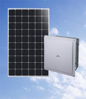 積載率225% LONGiソーラー 111.6 kW( LR6-60PE 310W)