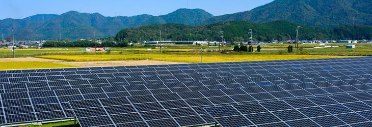 太陽光発電に適した土地